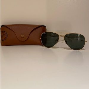 Ray-Ban aviator sunglasses large